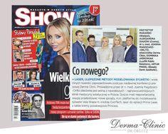Co nowego w Derma-Clinic? Dowiesz się tego z magazynu Show :) Dziękujemy i polecamy!
