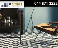 #DidYouKnow ceramic tiles are the classic flooring choice, having been a staple throughout history, especially during Victorian times when they were first mass produced. Tiles used to be used mainly in hallways, bathrooms and kitchens but in today's interior design, anything goes. #StilesGeorge