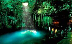 Yucatan crystal pools...