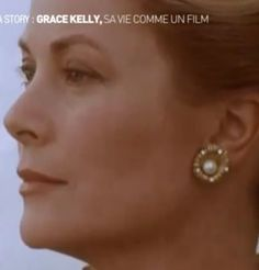 Gold and pearl earrings Pearl Studs, Pearl Earrings, Patricia Kelly, Princess Grace Kelly, Prince Rainier, Monaco Royal Family, Golden Days, Ladies Wear, Bright Skin