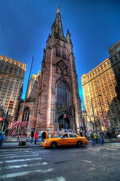 Trinity Church  in Lower Manhattan NYC