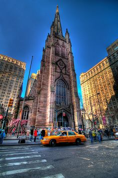 Trinity Church  in Lower Manhattan NYC