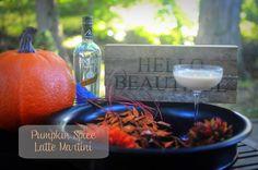 Pumpkin Spice Latte Martini #fall #delish #pinnaclevodka