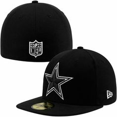 New Era Dallas Cowboys 59FIFTY League Basic Fitted Hat - Black