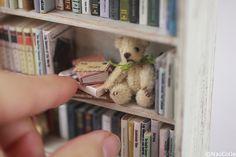 ♡ ♡ Teddy Bear 3cm, por NaoColle