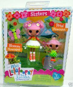 2014 Mini Lalaloopsy Sisters Pack Blossom Flowerpot Petal Flowerpot | eBay