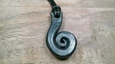 Hand Forged Metal Necklace Blacksmith Made by Joshsblacksmithshop on etsy Forged Metal Jewelry