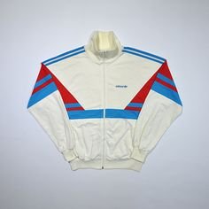 cb9f47ebcbe3 Rare Vintage 70s 80s ADIDAS Windbreaker Made in West Germany   ADIDAS Track  Jacket   Old