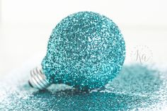 DIY Glitter mason jar tutorial step by step with pictures and tips.
