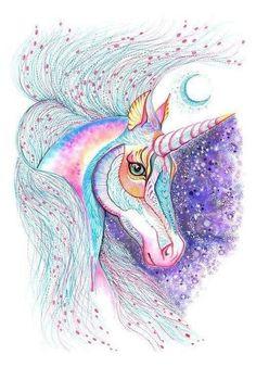 Resultado de imagem para unicornio desenho
