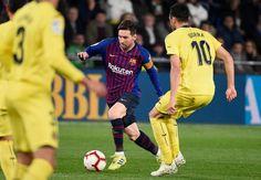 FBL-ESP-LIGA-VILLARREAL-BARCELONA Villarreal Cf, Lionel Messi, Messi Goal Video, Messi Goals, Barcelona, Sports, High Resolution Picture, Tatuajes, Men