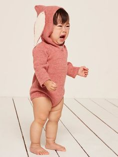 44579abc0 Oeuf Bunny Hooded Onesie. ReformationKnitted Baby ClothesWomen's ...