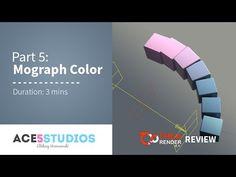 Thea Cinema part 5 - Mograph color shader Cinema 4d Tutorial, Animation Tutorial, 3d Tutorial, Grid Design, Graphic Design, Maxon Cinema 4d, 3d Max, Motion Design, Motion Graphics
