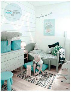 Jolies teintes pour une chambre d'enfants
