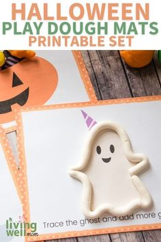 Looking for a fun activity to do with your kids this Halloween? These play dough mats are perfect! This set includes 10 pages of printable, imaginative and cute play-dough mats. Perfect for rainy days or if you want something new and exciting to keep the kiddos occupied during winter break. Kids will love creating their own little scenes on these adorable paper mats while they learn about shapes, colors and more. Diy Halloween Decorations, Cute Halloween, Halloween Costumes For Kids, Halloween Themes, Halloween Crafts, Fun Activities To Do, Play Dough, Imaginative Play, Rainy Days