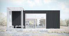 Modern & hög c/o 35 #sommarnojen #architecture #scandinavia #pergola #attefallshus #fritidhus #modulhus