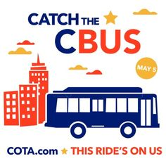 The CBUS  free downtown circulator stops near these great Columbus locations:  • Arena District • Columbus Convention Center • Short North Arts District • Brewery District • German Village • Ohio, Palace, Southern ...