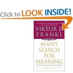 Amazing book about Frankl's experience in a concentration camp, and how he used that experience to help others.
