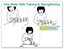 therapylibrary- more Fine Motor Skills