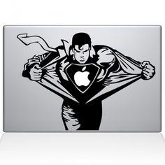 Superman Macbook Decal $12.99
