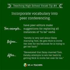 Great way for students to practice vocabulary with each other. Great to have on the wall, so the students can always look at it.