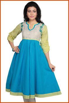 Azul Readymade Compras túnica de algodão Online: THS3