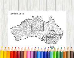 Map Coloring Page USA Coloring Page Travel Coloring Colouring - Us map coloring pages pdf