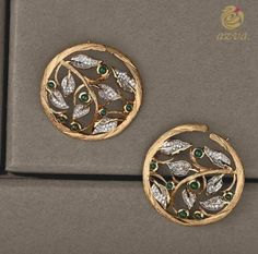 Gold Jewelry In Pakistan Ear Jewelry, Jewelery, Silver Jewelry, Jewelry Accessories, Silver Ring, Jewelry Making, Gold Earrings Designs, Gold Jewellery Design, Earings Gold