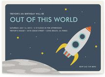 Out of This World Children's Birthday Party Invitations Minted website-chk out invites & vintage space 25 for $64