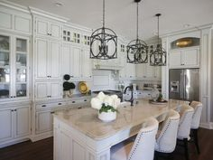 The kitchen of the Bellarmine the Designers' Show House,