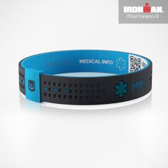 The Myid Sport Medical Id Bracelet Is Perfect For Those With Diabetes Epilepsy Autism And Other Conditions