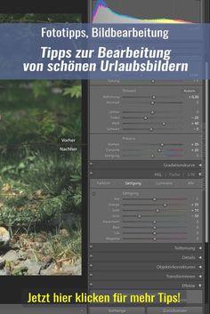 Tipps zur Bearbeitung von Urlaubs- und Tierbildern. Fotografie, Fotobearbeitung, Lightroom, Reisebilder, Reisefotos, Reisen