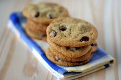 vegan chocolate chip cookies -- Whenever I've had them, they're amazing... gotta try it