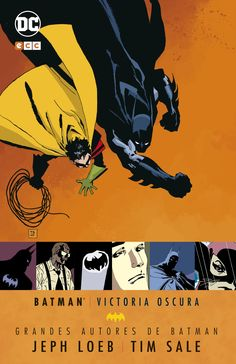 """Batman: Victoria oscura"" (Jeph Loeb y Tim Sale, ECC Cómics) Dave Mckean, Marvel Dc Comics, Frank Miller, Victoria, Harvey Dent, Gotham, Bernie Wrightson, O Flash, Batman Cartoon"