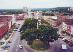 Watertown, NY town square. (hometown)
