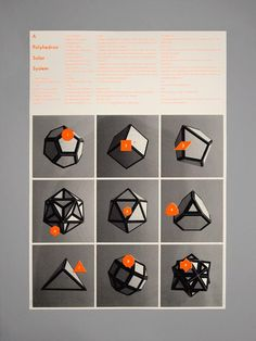 Polyhedron Solar System / Maddison Graphic