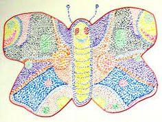 Image result for pointillism for kids templates