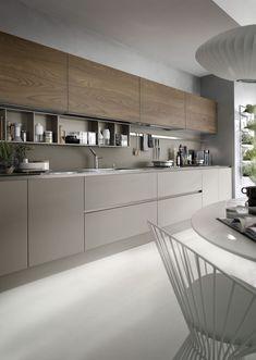 cuisine moderne I linéaire configuration ouverte moderne