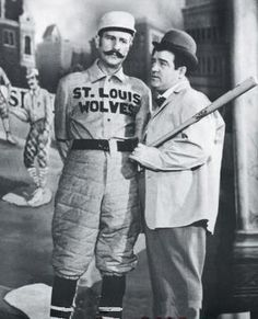"""""""Who's On First"""" * Popular Abbott and Costello routine concerning a baseball team and the confusion over player names. one of my favorites! Abbott And Costello, Great Comedies, Classic Comedies, Classic Tv, Classic Films, Old Movies, Great Movies, Awesome Movies, Classic Hollywood"""