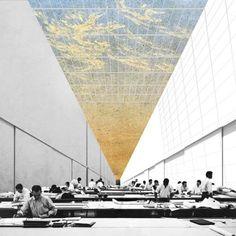 архитектурный коллаж