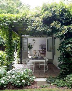 Steel Pergola Design - - Pergola Front Porch With Roof - Pergola De Madera Iluminadas Small Backyard Pools, Backyard Garden Design, Backyard Ideas, Small Patio, Patio Design, Landscaping Ideas, Small Backyards, Garden Ideas, Patio Ideas
