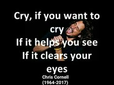 Rest in peace, Chris Cornell... July 20,1964 — May 17, 2017(aged52) #Soundgarden #TempleOfTheDog #Audioslave