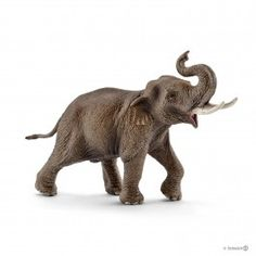 Schleich Wild Life - Asian elephant, male