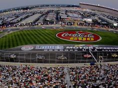 Charlotte Motor Speedway-Been to both the spring and fall races here.  Racetown USA lots of great things to do here for a fan.