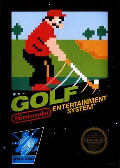 Golf - NES video game cover art