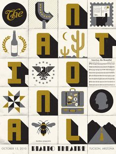 color, typography and illustration