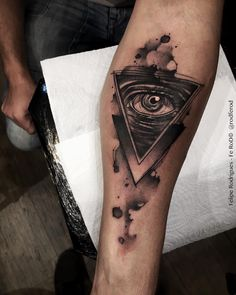 Watercolor Eye of Providence