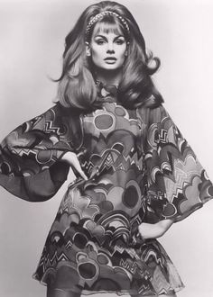 late 1960's fashion Jean Shrimpton