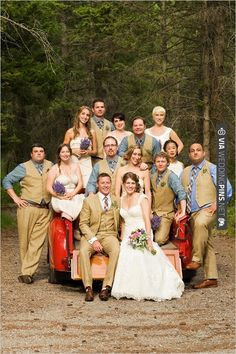 wedding party looking super cute | CHECK OUT MORE IDEAS AT WEDDINGPINS.NET | #bridesmaids