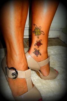 Love Sea Turtles  Rockstar Tattoo, NC
